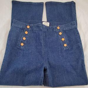 J Crew Demi Boot Crop Jeans